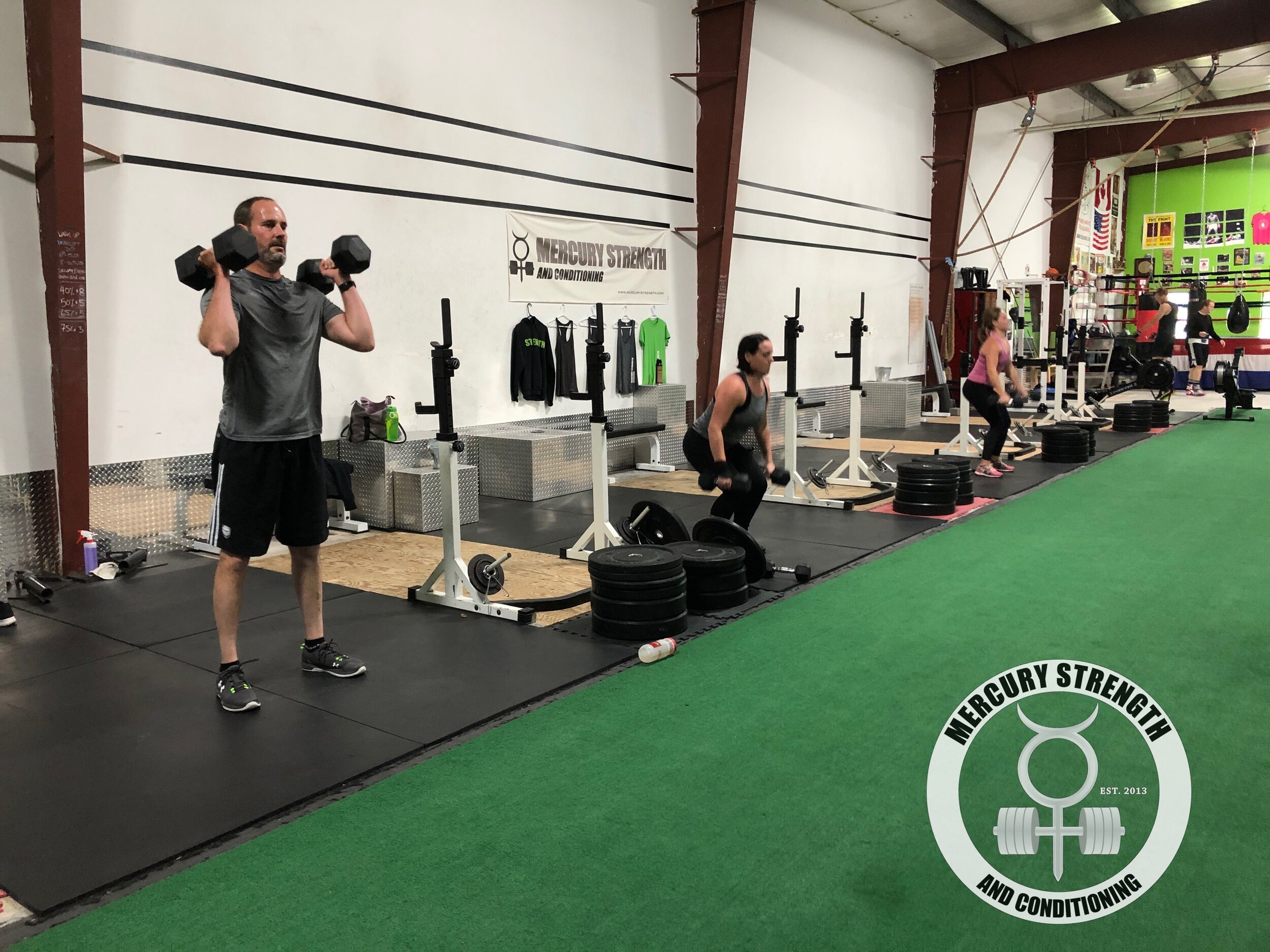 Gym-powerlifting-Olympic lifting-fitness-personal training-training-bootcamp-crossfit-kingston-gym-kingston gym-physique-body building-nutrition-kids-mercury-strength-conditioning-athlete-ontario powerlifting association-OPA-Canadian powerlifting federation-CPF-DB Power Clean.JPG