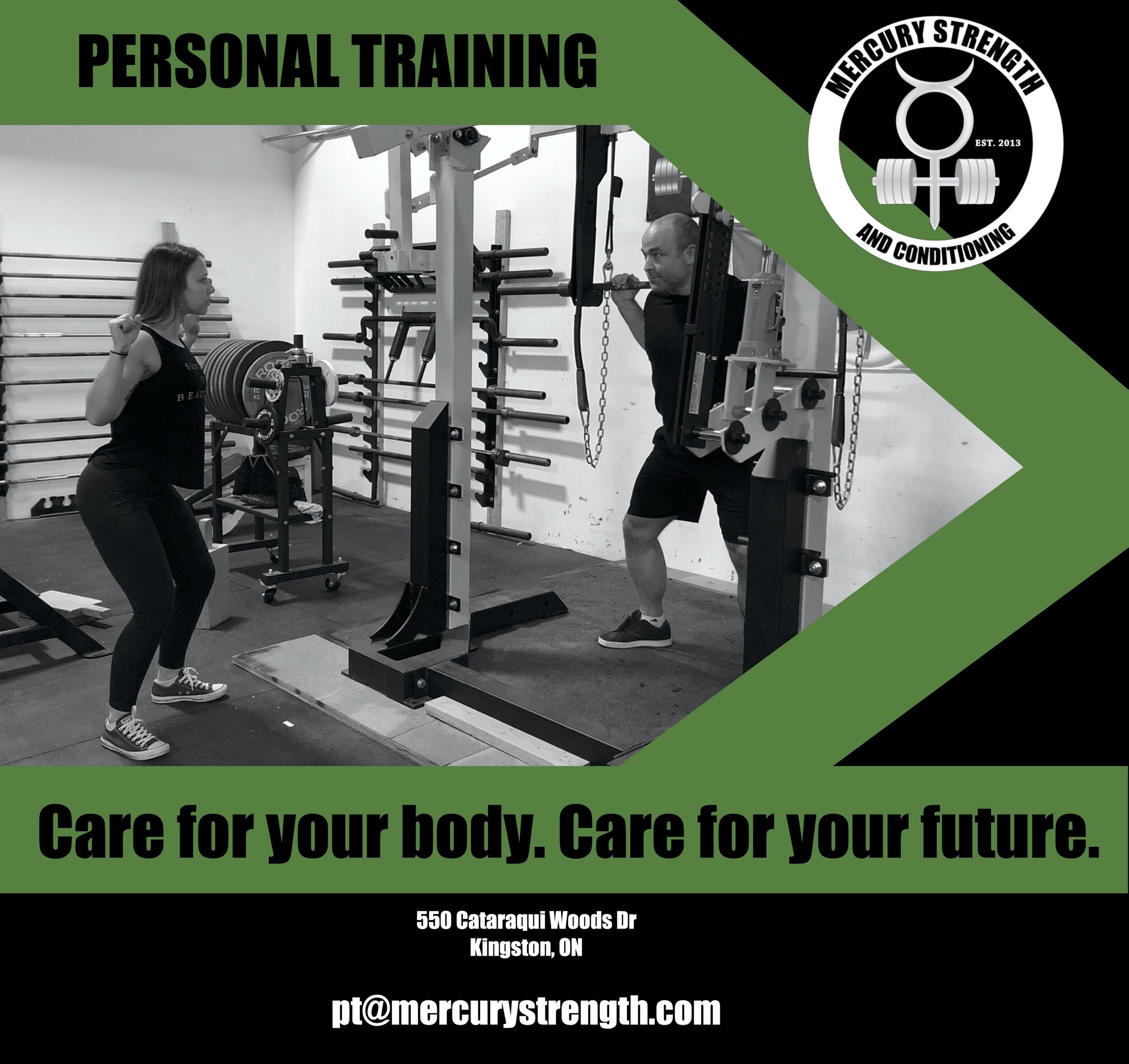 Invest in your future with some of Kingston's BEST coaches! pt@mercurystrength.com