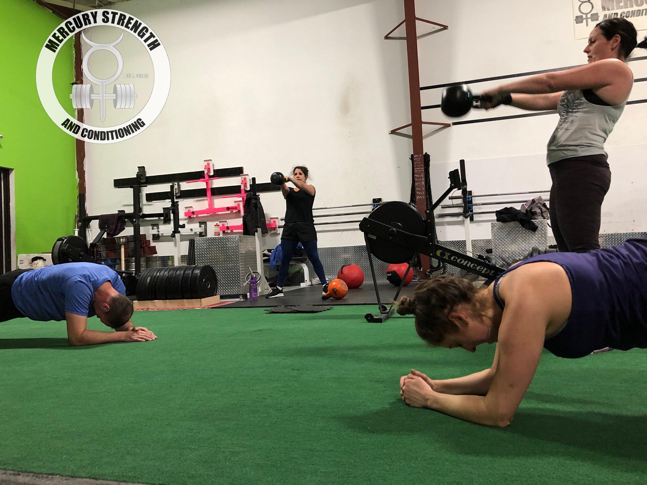 DB floor press — Gym | Fitness