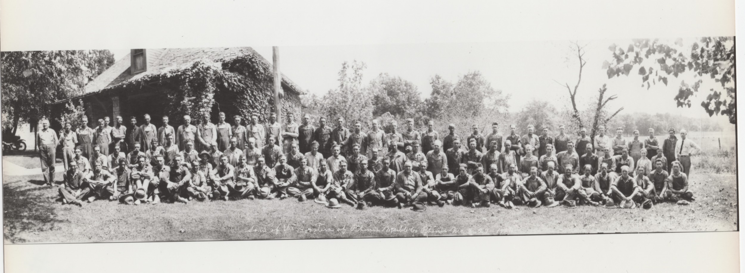 """""""Some of the Boosters of Phenix Marble Co, Phenix, MO 8-27-1924"""""""