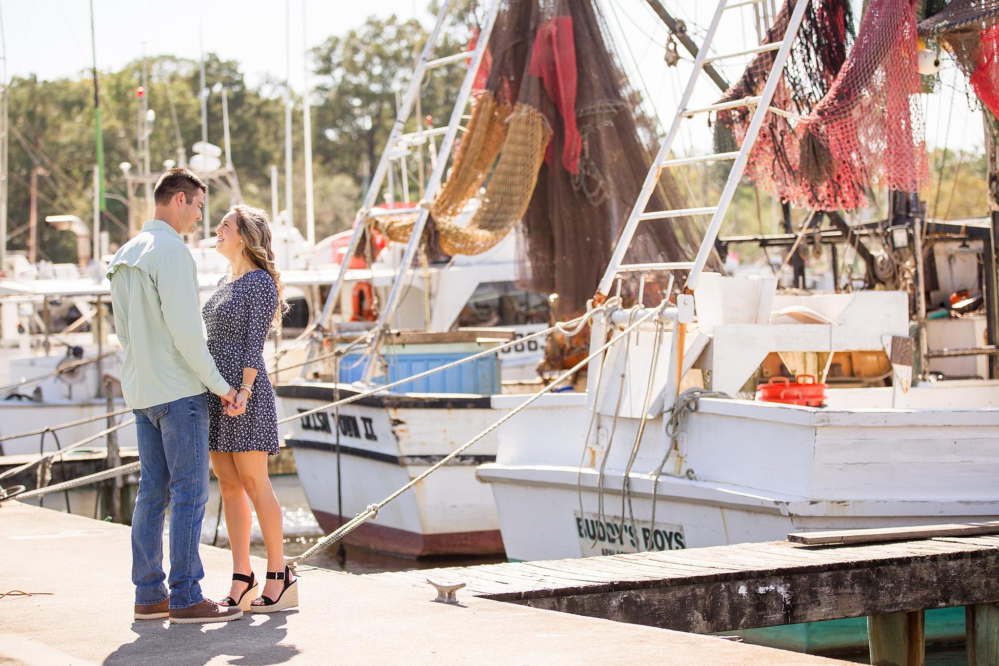 Apalachicola Engagement Pictures