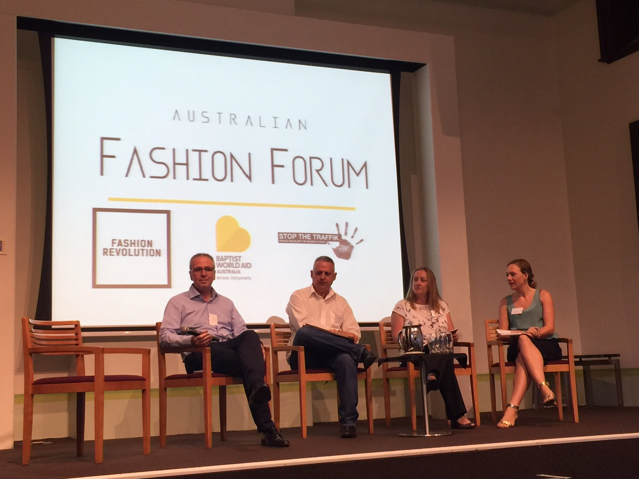 Co-hosting Australian Fashion Forum on Living Wages in the Fashion Industry, November 2015