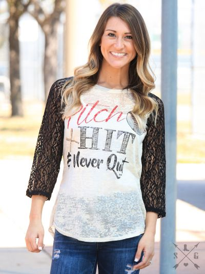 PITCH HIT SHIRT