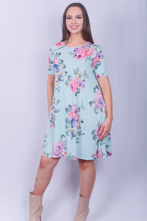 LIGHT BLUE DRESS $29