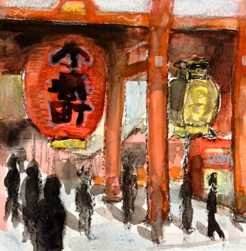 Asakusa Temple Study.jpg