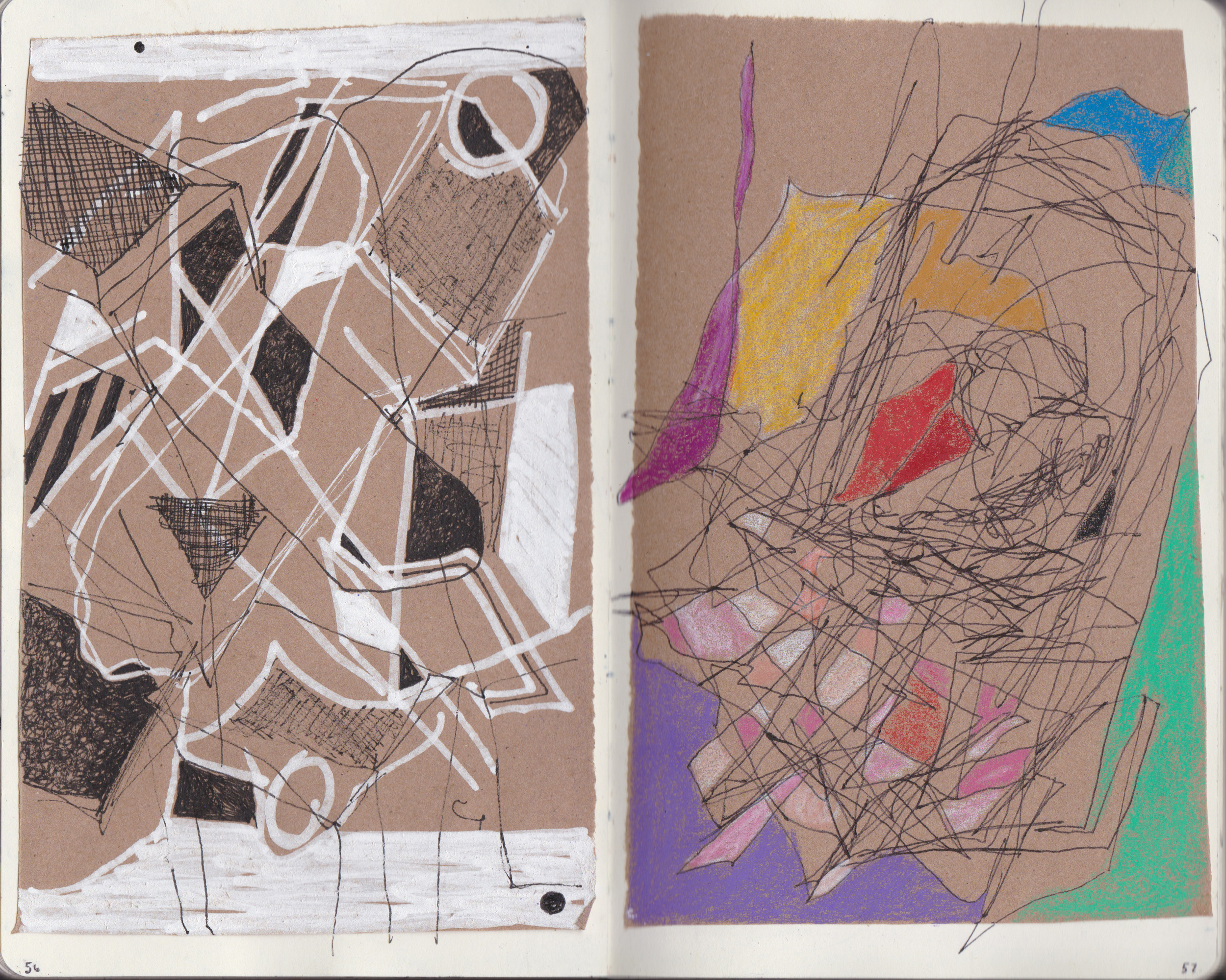 Selections From a Series of 100 Drawings