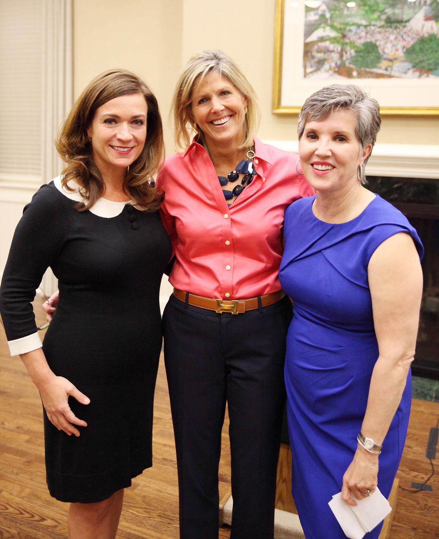 Speakers T. Ann Pierce, Heidi Prom and Dr. Julia Marshall