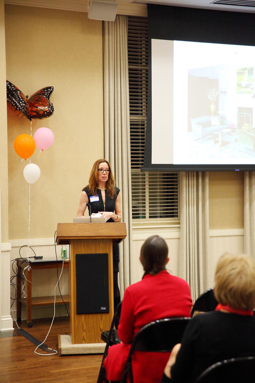 Speaker Elizabeth Scott of Elizabeth Scott Design Group