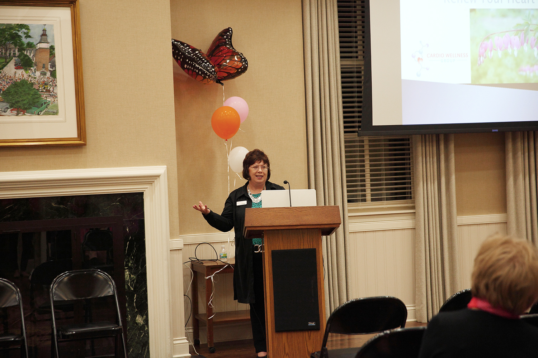 Speaker Judy Feldhausen of Cardio Wellness Group
