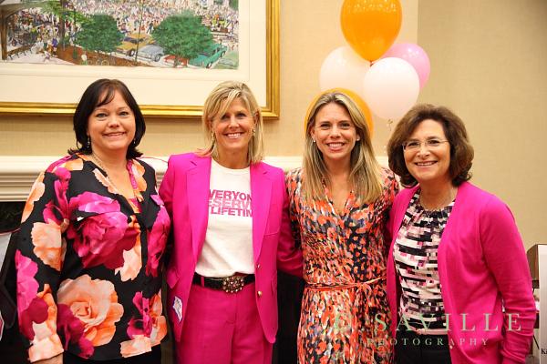 September speakers Betsy Perkins, Heidi Prom, Alison Graf and Bonnie Gordon