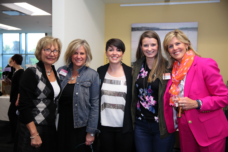 Suzie Hempstead, Jenny Cornejo, Jenn Bermingham, Kris Kecura and Heidi Prom.