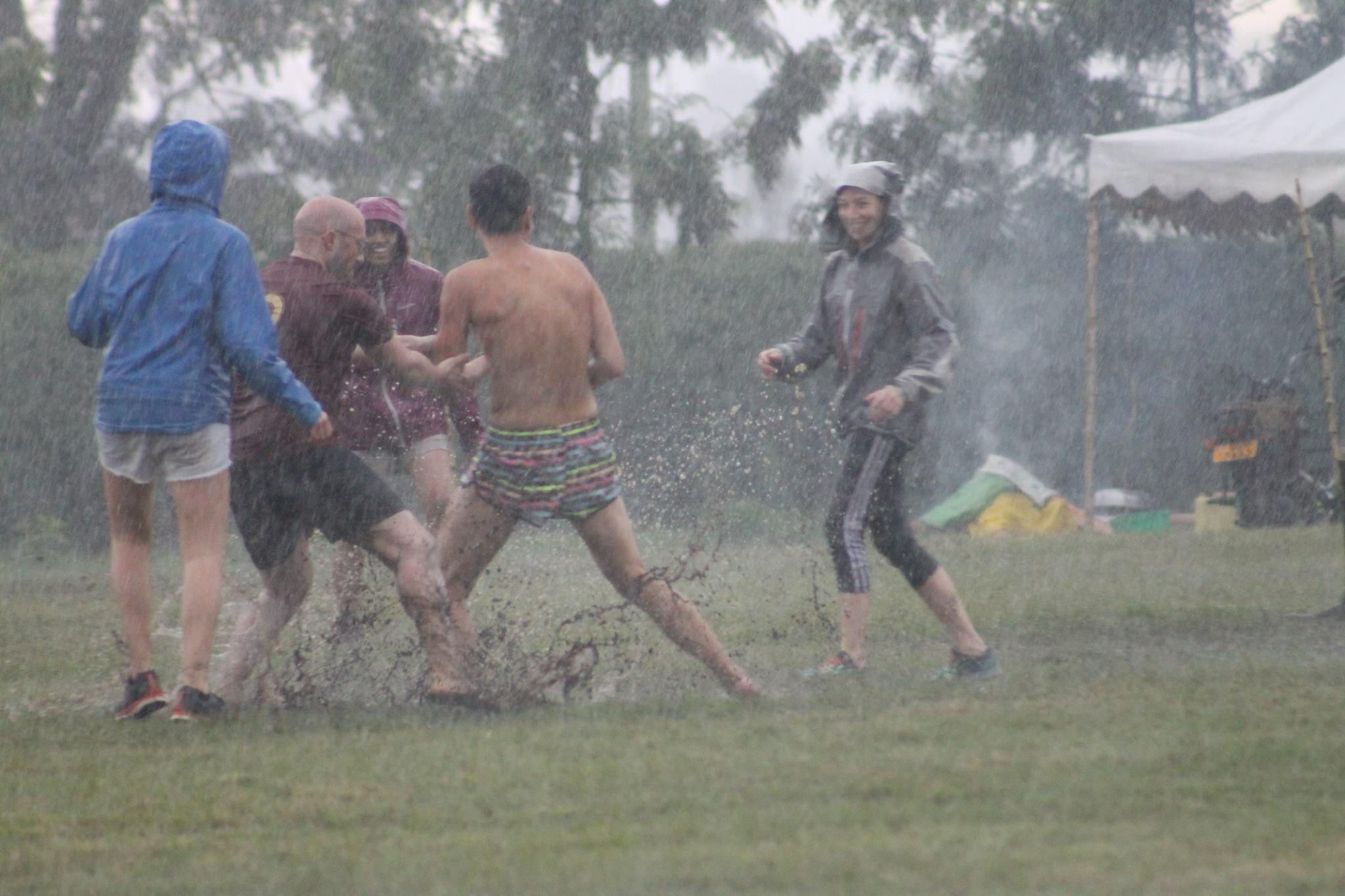 Embrace the rainstorms!