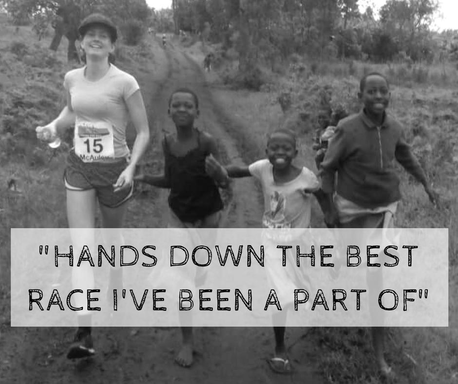 Marathon in Uganda, Africa