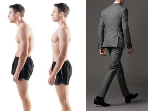 Standing tall can give you a bit of extra height...as well as more confidence. Properly tailored clothes can actually encourage you to stand straighter and taller.