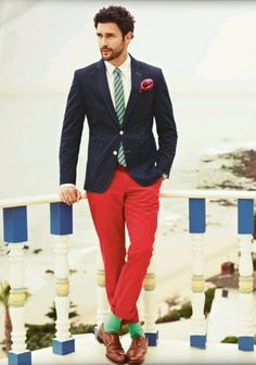 This outfit is a definite no-no for short guys.