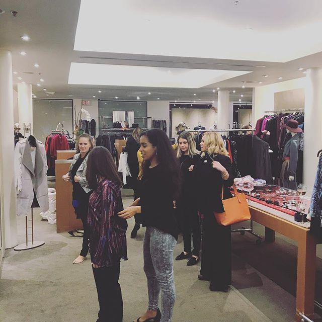 Now we all #shop!!! #dressforsucess #showyourself #style #women #trentu