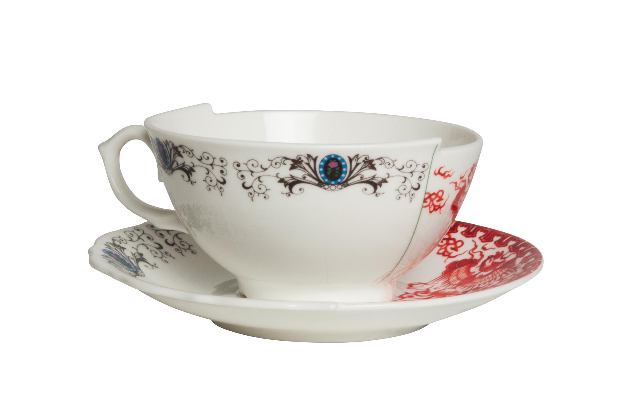 HYBRID ZORA - TEA CUP & SAUCER