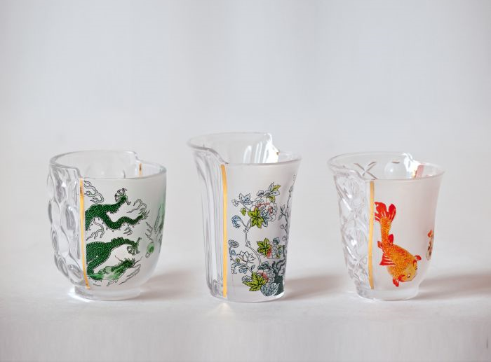 HYBRID AGLAURA - SET OF 3 GLASSES
