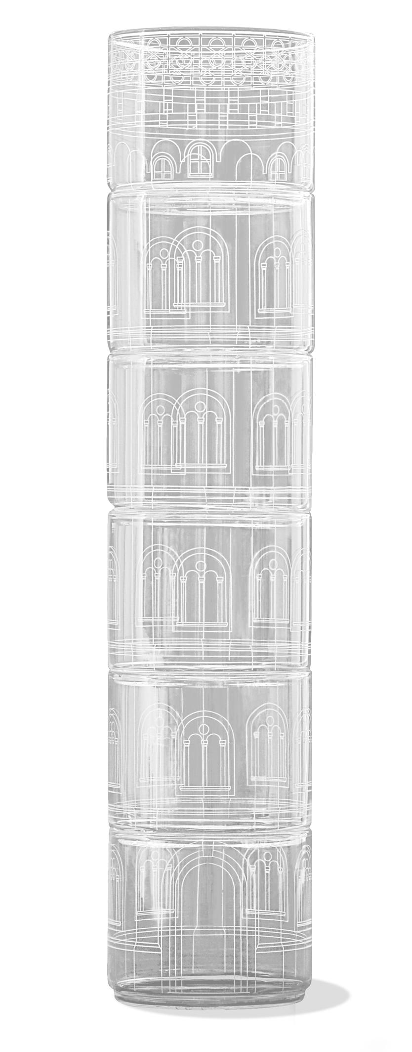 TORRE CHIARA DRINKING GLASSES
