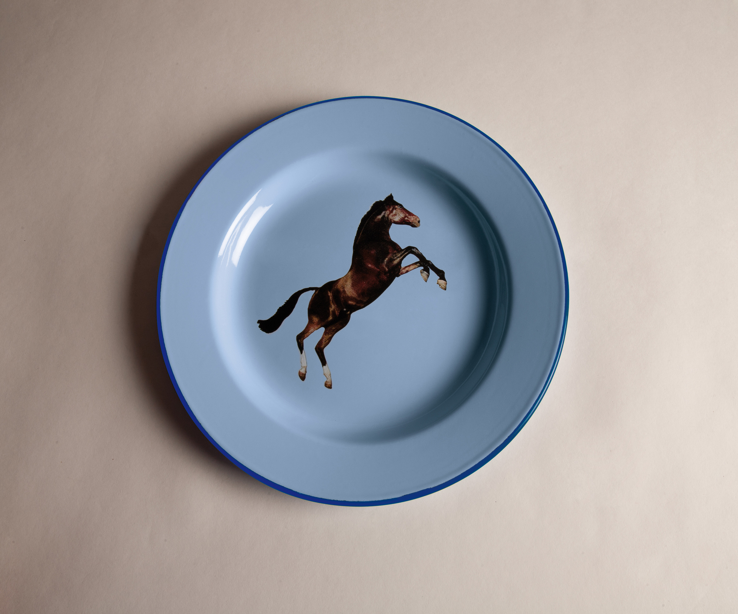 PLATE HORSE