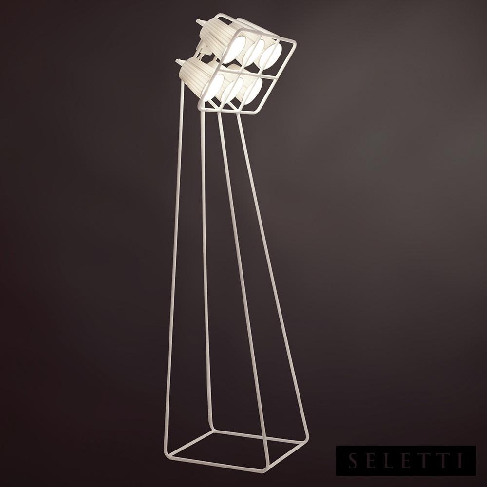 MULTILAMP STANDING LAMP - WHITE