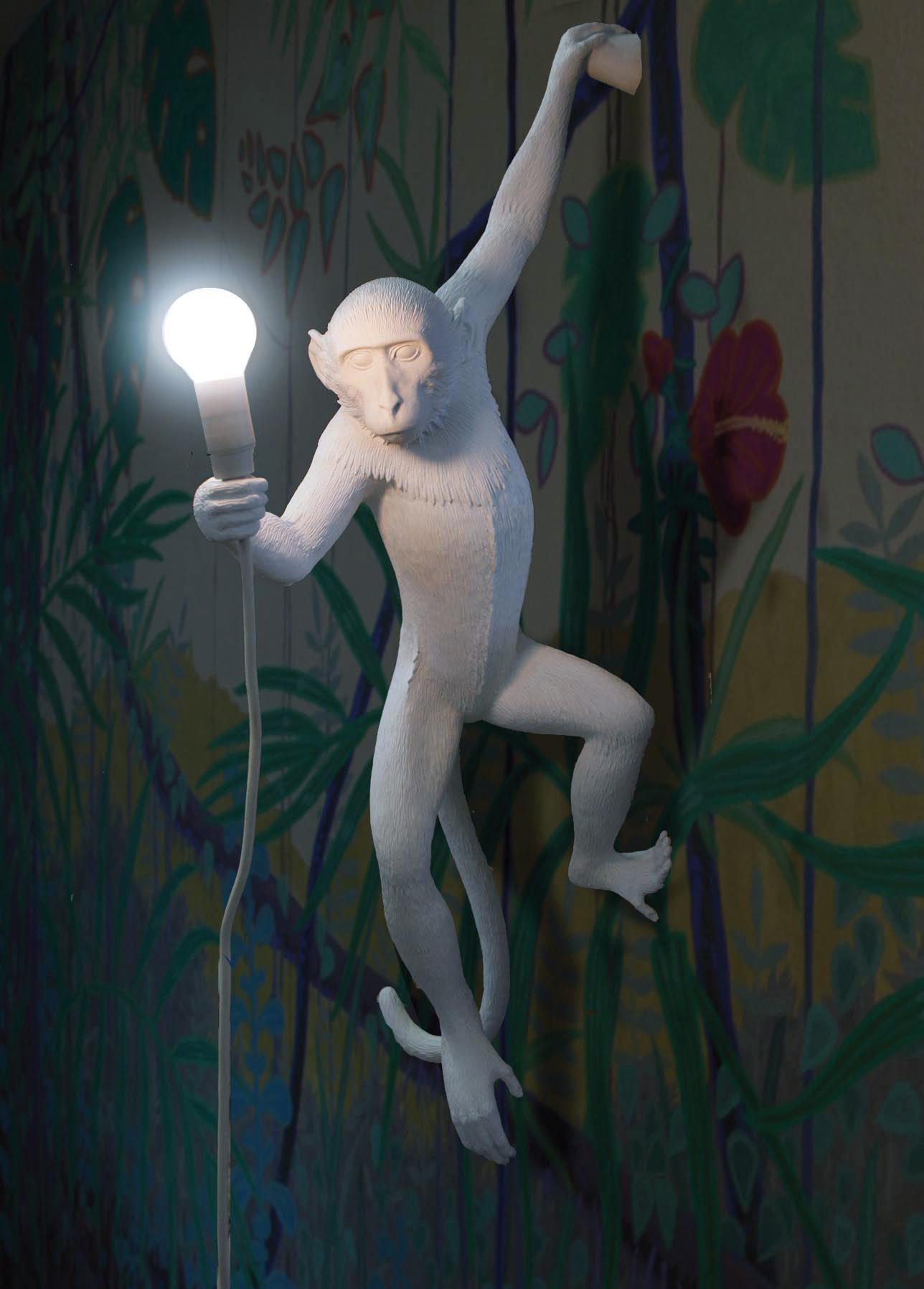 HANGING MONKEY LAMP