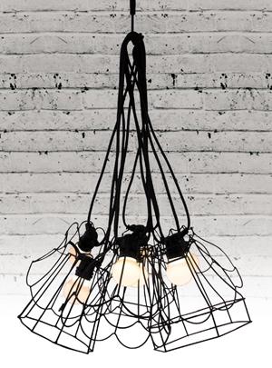 PARALUMI LAMP SHADES IN BLACK - 3 DESIGNS