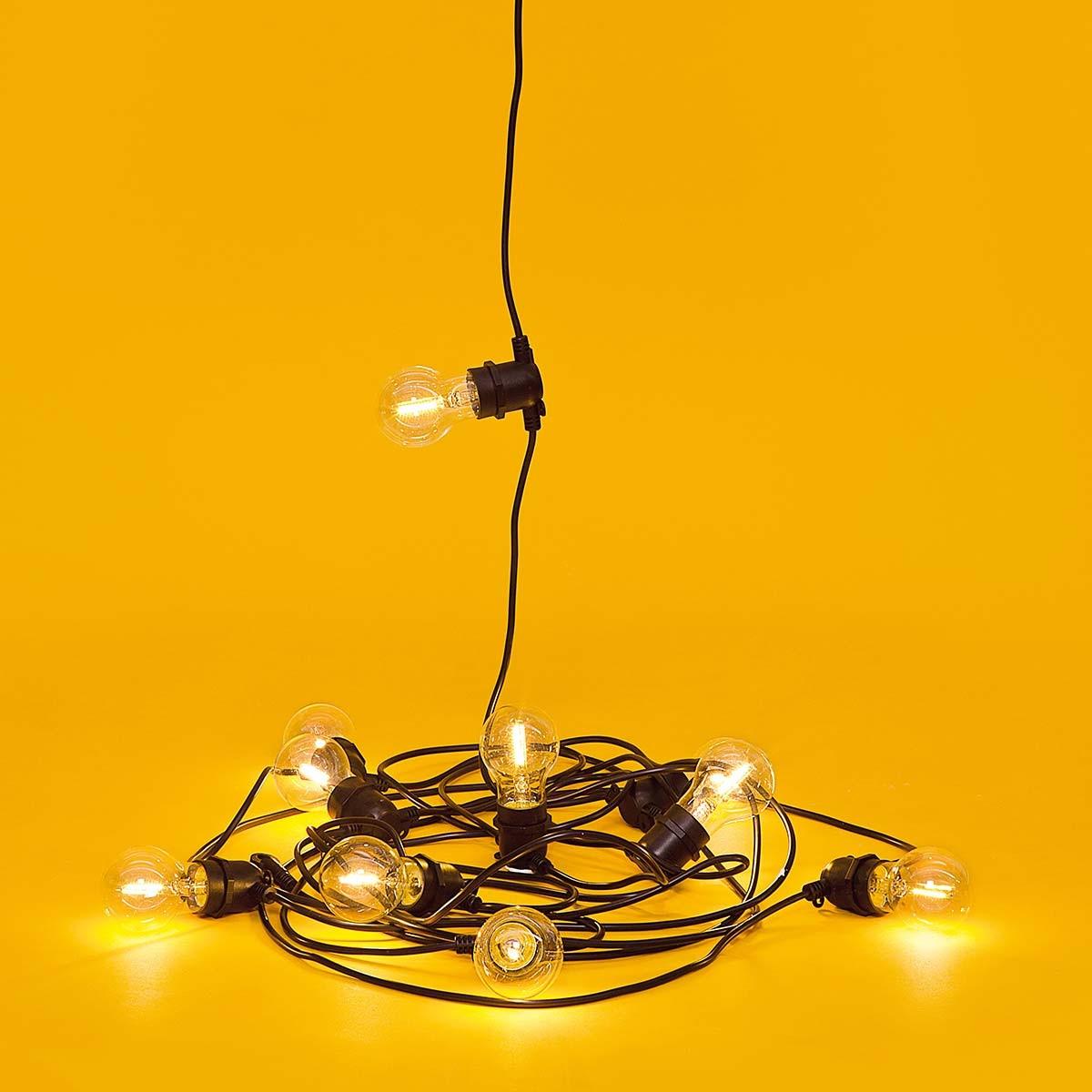 The illuminating Bella Vista outdoor LED lights by Seletti