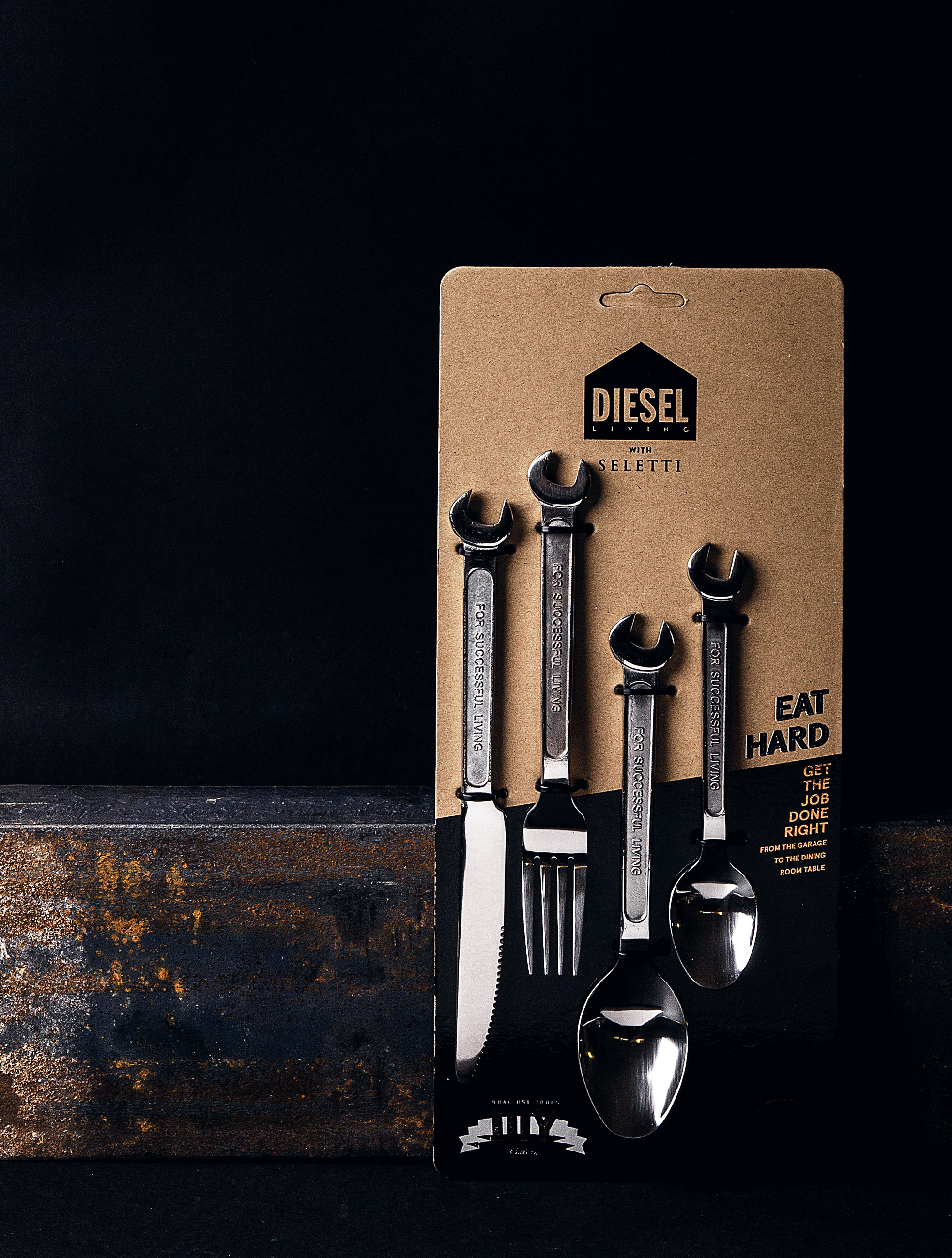 The extra functional machine collection cutlery set