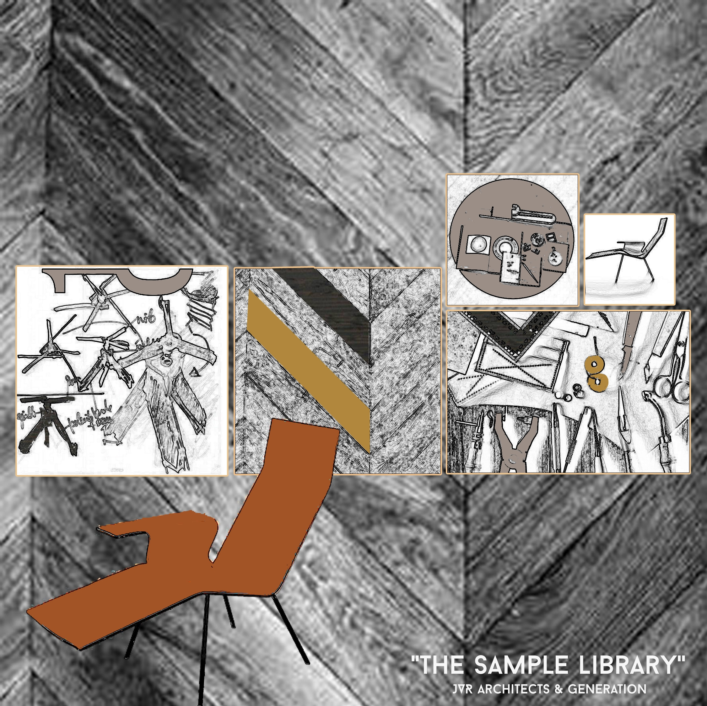'Sample Library' Graphic feat. LL04