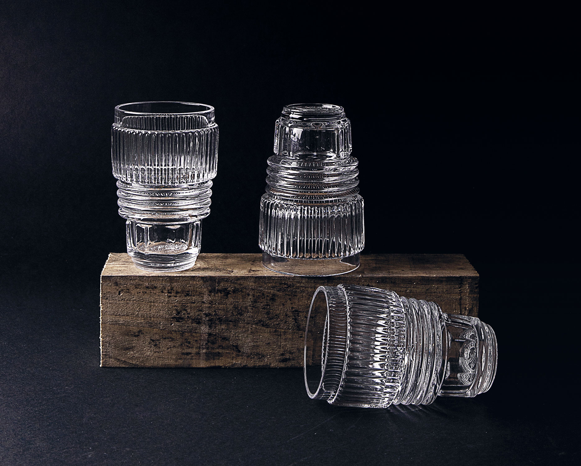 Set of 3 Glasses - Large