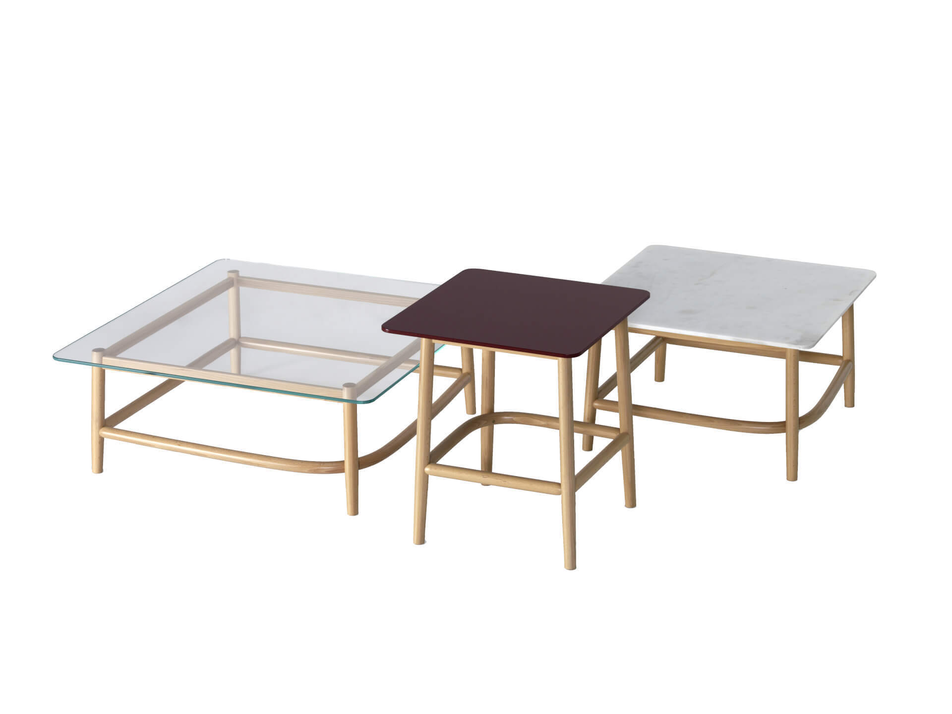 SINGLE CURVE LOW TABLES
