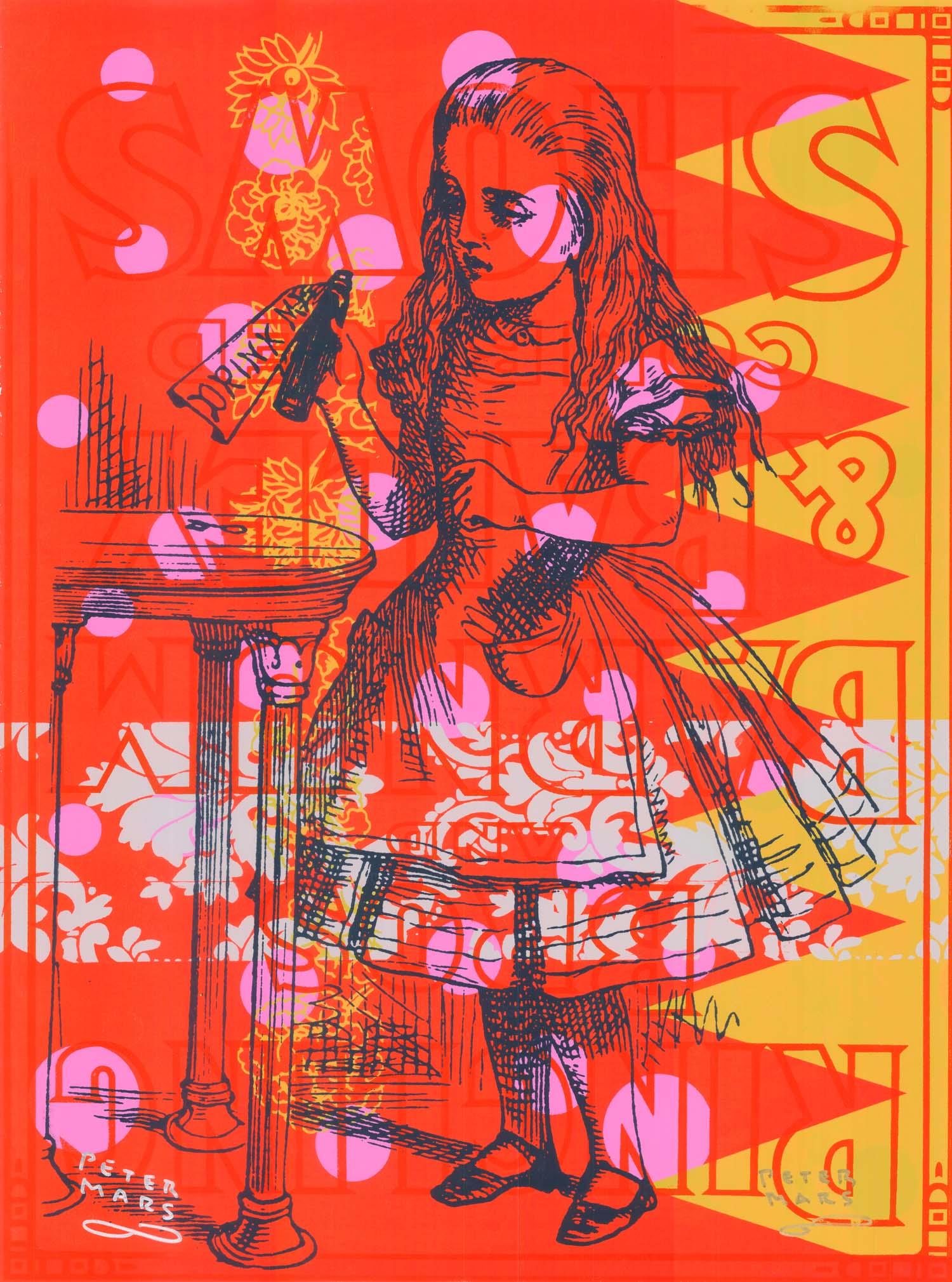 "What a Curious Feeling , Peter Mars, American Pop Art, 30x40"""