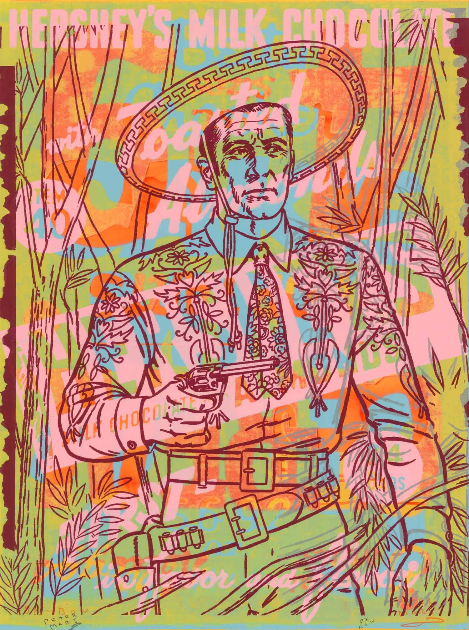 "Cisco , Peter Mars, American Pop Art, 30x40"""