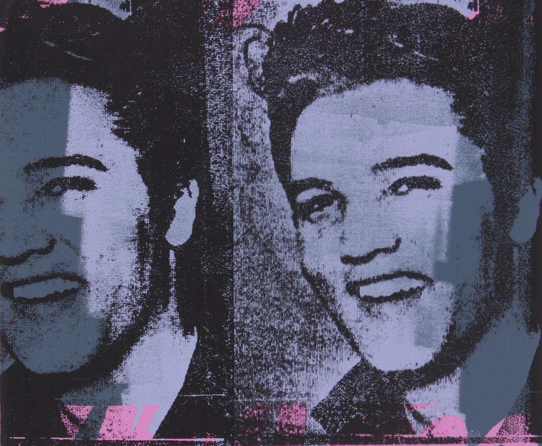 """Army Elvis , Peter Mars, American Pop Art, 24x30"""""""
