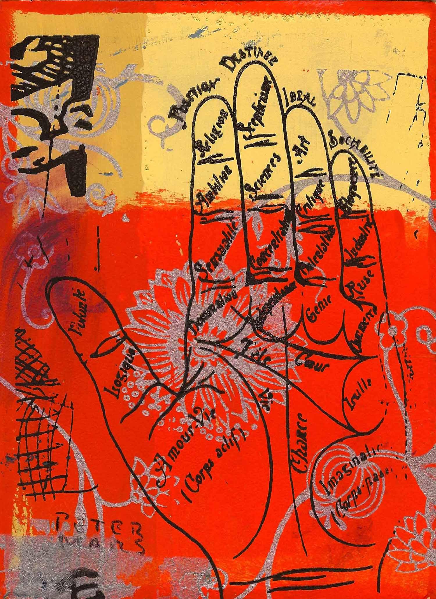 "Destinee , Peter Mars, American Pop Art, 15x20"""