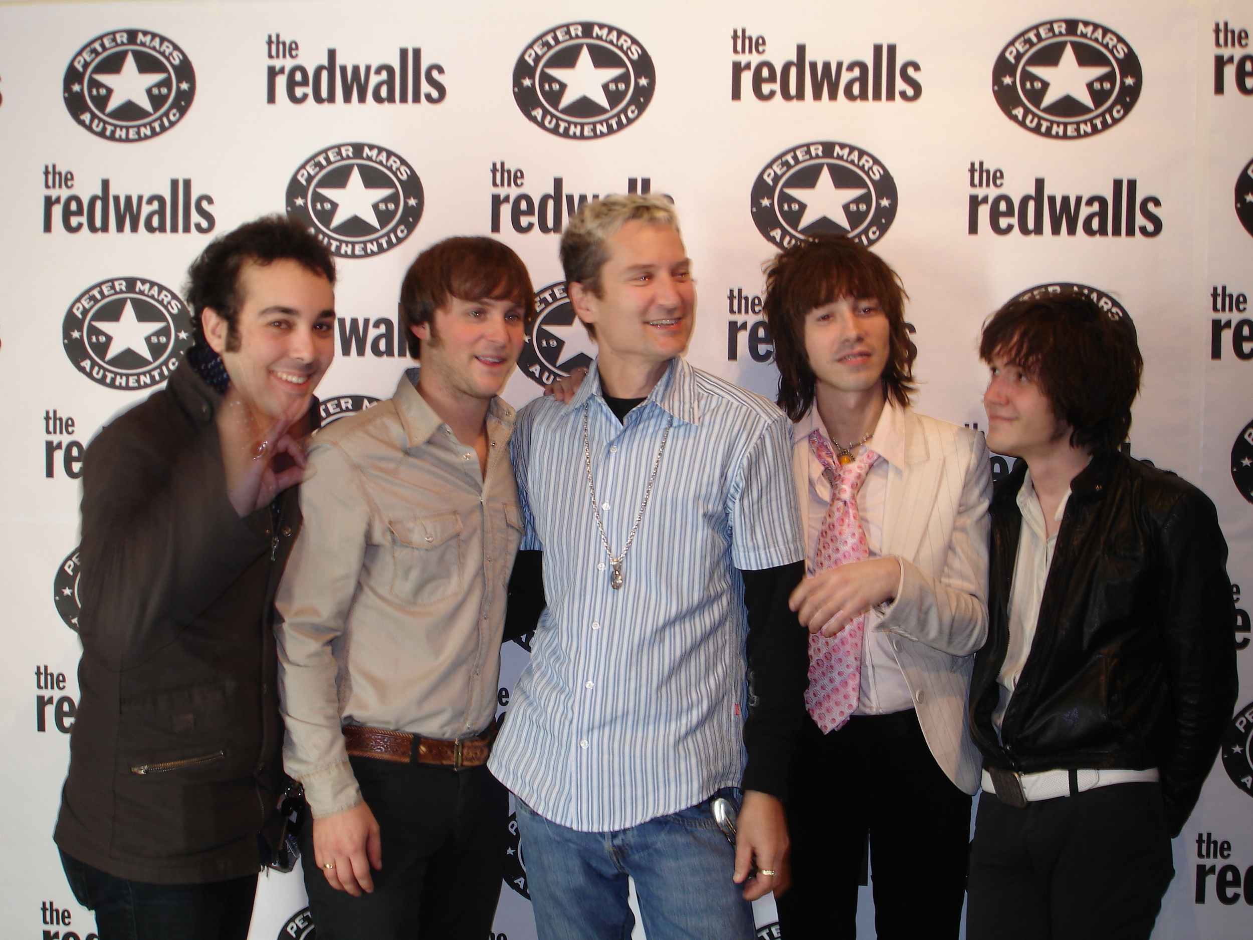 Peter Mars with The Redwalls