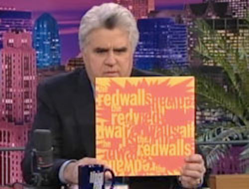 Jay Leno featuring The Redwalls (album artwork by Peter Mars)