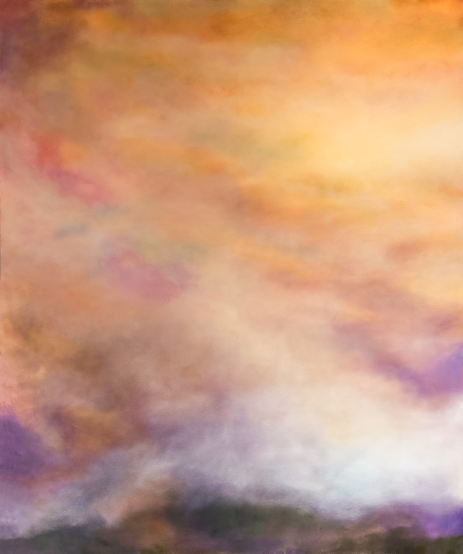 UNIVERSE I, Life Unlimited, oil on canvas, 6 x 10 feet, diptych (183 x 305 cm)