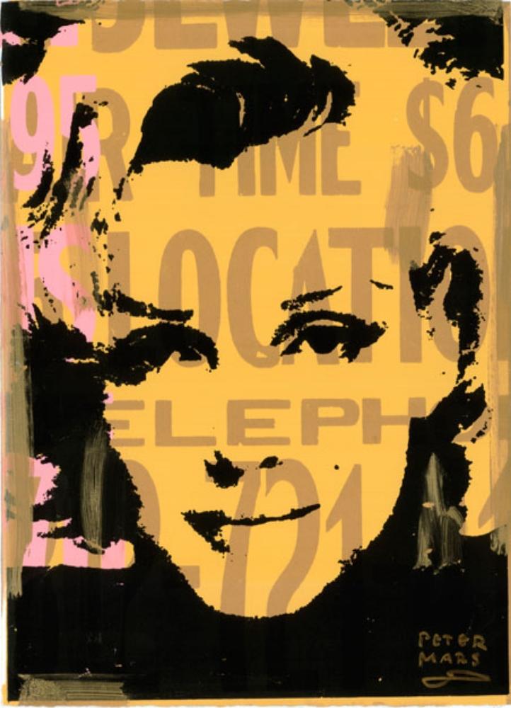 "Heartbreaker , Peter Mars, American Pop Art, 15x20"""