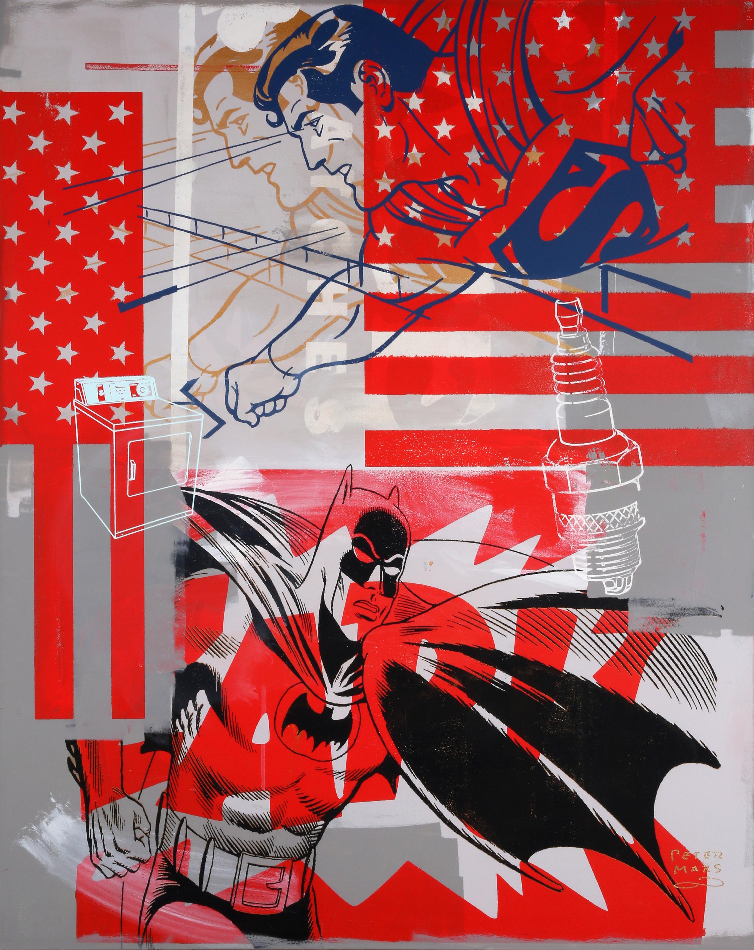 All American Heroes by Peter Mars