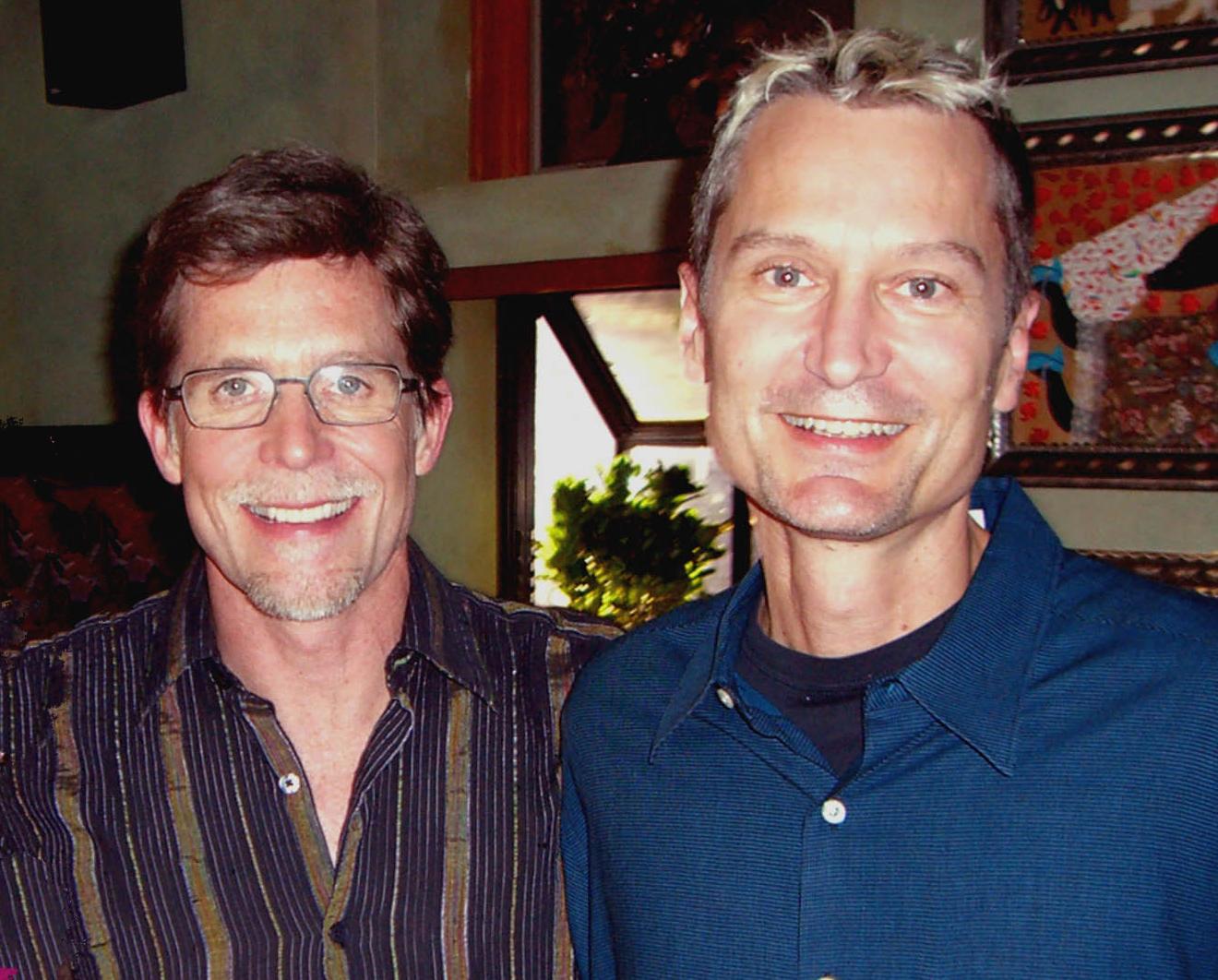 Rick Bayless and Peter Mars