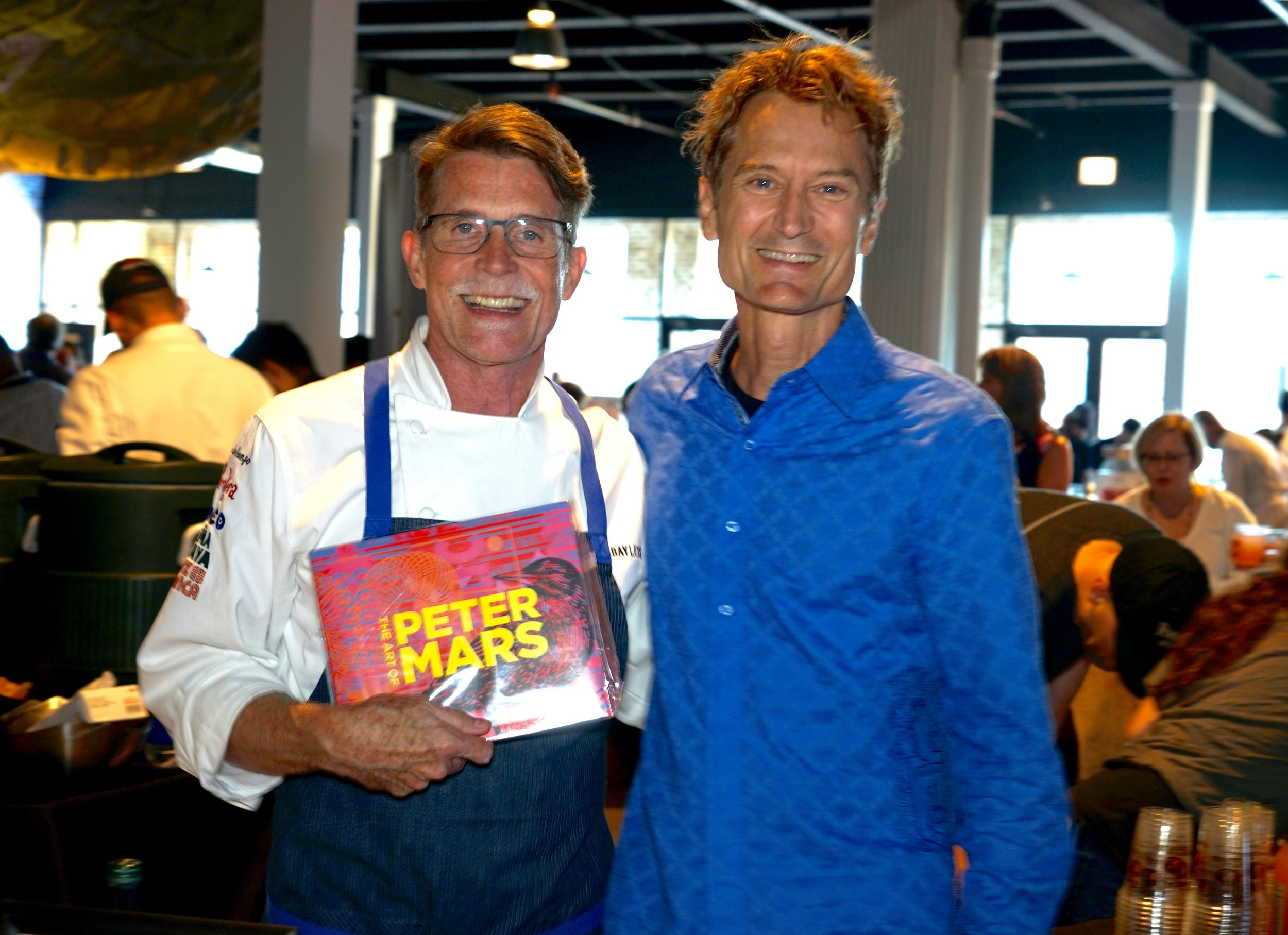 Peter Mars and Rick Bayless