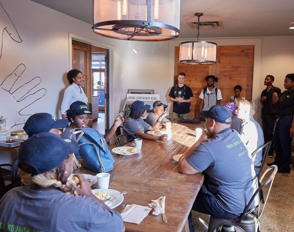"""When Troy James arrived in New Orleans in January 2006, he felt the despair, loss and dread that Hurricane Katrina had left behind the previous summer.  https://news.starbucks.com/news/starbucks-foundation-opportunity-for-all-grant   The city was still physically destroyed, but its spirit was very much alive. """"People were still going to work, helping their neighbors and trying to approach each day with hope,"""" James said.  The optimistic sense of service that inspired a troubled city also launched a nonprofit called Liberty's Kitchen – an organization designed to give unemployed youth leadership and life skills, and practical food-service job training.  On Wednesday, The Starbucks Foundation announced that Liberty's Kitchen is one of   41 nonprofits in 27 states to receive a 2017 Opportunity for All grant  . This, its fourth grant from The Starbucks Foundation, is $50,000 to fund staff development and training, uniforms for students, activities for alumni and special events to promote the organization.  When James, 49, moved to New Orleans as a Starbucks food service account services manager, he came across the new nonprofit and immediately saw the connections for Starbucks – and for his own passion.     """"I knew right away that I wanted to help them,"""" said James, who is now a district manager for licensed Starbucks stores. """"I also knew that Starbucks would want to get involved because the organization's objective was to help young people thrive, something Starbucks is also committed to.""""  The Starbucks Foundation was started in 1997 and since its inception has supported youth-related initiatives, initially funding youth literacy programs in the United States and Canada. In 2015, Starbucks initiated Opportunity for Youth Grants and that same year, to support nonprofits connecting young people to job skills training in North America.   https://news.starbucks.com/news/starbucks-foundation-opportunity-for-all-grant   This year, Starbucks has expanded the focus of the gra"""