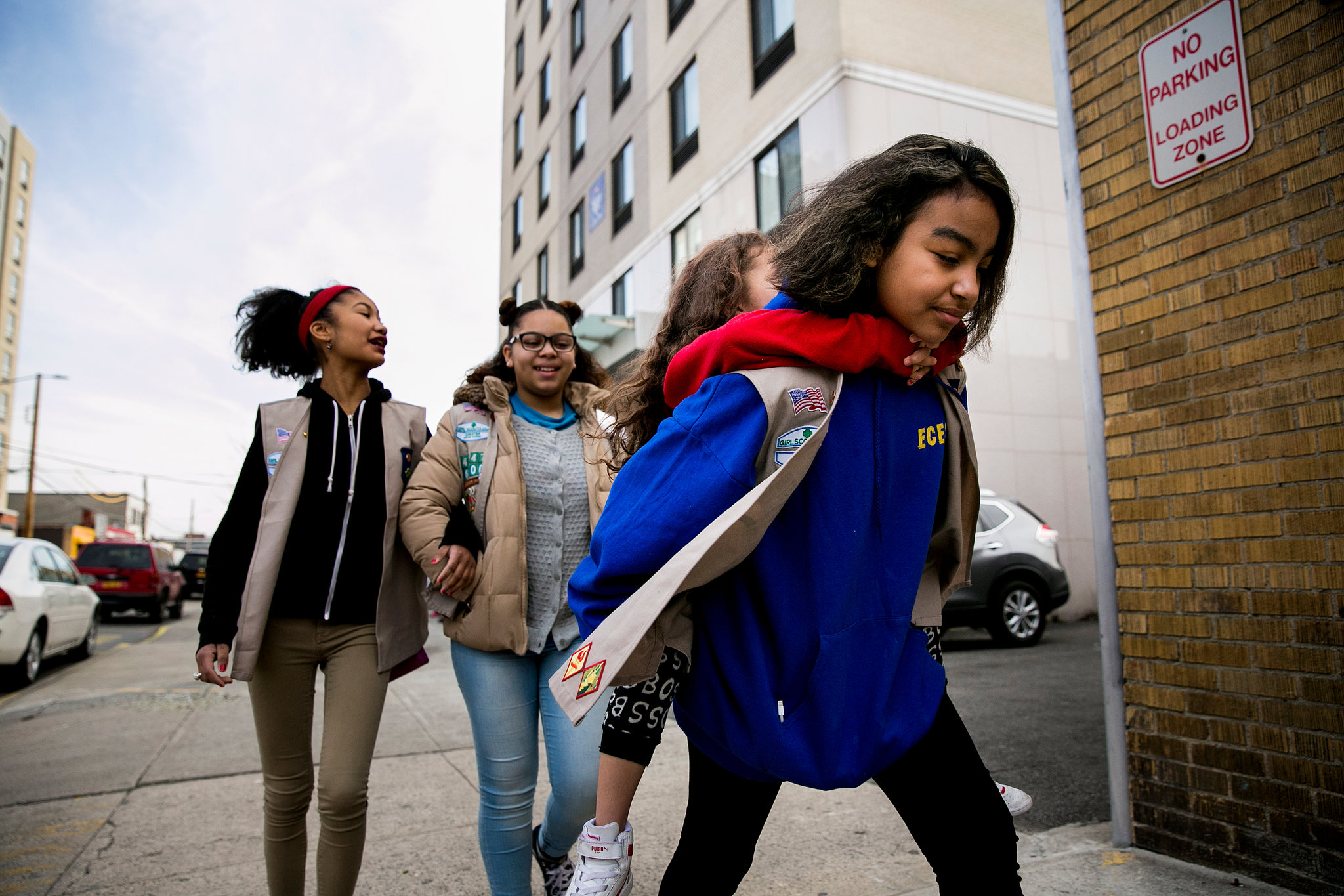 "A Girl Scout troop for homeless children that got its start at a Long Island City shelter will get  more than $1 million to expand to 14 other homeless shelter sites across the city , officials announced Wednesday.   https://www.dnainfo.com/new-york/20170712/long-island-city/homeless-girl-scout-troop-children   The Department of Homeless Services and the Mayor's Fund to Advance New York City will fund the grant —  $375,000 a year over the next three years  — to expand Girl Scout Troop 6000, which was formed in March to serve girls living in a shelter based at the Sleep Inn Hotel in Queens.  Though the exact locations haven't been determined yet,  the funding will allow the troop to expand to 14 other city shelters starting this October, serving an additional 500 girls and women in its first year.   The troop will meet weekly at the designated shelter sites and will be run by trained troop leaders who also live in the shelter system, according to an announcement from DHS.  The city funding will be used to cover membership fees and dues, as well as the children's uniforms, pins, workbooks and other necessities, officials said.  ""I have fond memories of the lessons and teachings that the Girl Scouts provided me as a young child,"" Herminia Palacio, the city's deputy mayor for Health and Human Services, said in a statement. ""With this new grant, we will be able to reach even more young people and help them cope with the everyday challenges homelessness brings.""   About a third of the city's shelter residents are kids under the age of 17 , officials said.  Girl Scout Troop 6000 was formed in March through a partnership between DHS and the Girl Scouts of Greater New York, and it currently counts at least two-dozen members, a DHS spokeswoman said.   The troop, which marks the first in the nation to specifically serve homeless girls , was launched after City Councilman Jimmy Van Bramer visited the hotel-based women's shelter in his Long Island City district for Thanksgiving dinner in November.  ""It was there that we dreamed of a Girl Scout troop created specifically for homeless girls,"" he said in a statement. ""This money will help these girls realize their dreams.  Helping to expand Troop 6000 is just about the most right thing I've ever been a part of ."""