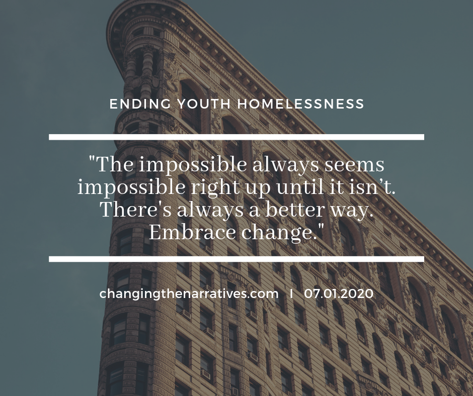 "The homeless crisis in Orange County is getting help from a group that seeks out unaccompanied and at risk youth to find them homes, jobs and stability in an attempt to try to end the cycle of youth homelessness.   https://www.nbclosangeles.com/news/local/Orange-County-Homeless-Youth-Stand-Up-For-Kids-Nonprofit-518857841.html   The goal of the nonprofit, StandUp For Kids, is to put youth who are homeless or at risk of becoming homeless on the path to self-sufficiency. The volunteer-based organization in Orange County has helped more than 477 youth, ages 12 to 24 since 2018 said Carlia Oldfather, the program's director of operations.  ""We're seeing a trend that when youth turn 18, they get discarded,"" Oldfather said.  That is what happened to Jordan McClasky, a formerly homeless teen who was forced to leave her home at 18. She met Jake Cummins, now her husband, and they lived together in a car for two years.  ""We had cars that we slept in, but they would break down, "" said McClasky. ""We'd be sleeping behind stores or wherever we could sleep.""  It was while they were sitting outside a grocery store that Oldfather found the homeless newlyweds. She had a conversation with them that would lead to a life-changing connection.  ""We had been told that we'd never get off the street,"" Cummings said. ""(Oldfather) just asked us about our background and within 24 hours they got us off the street and in housing.""  Oldfather said the program has two requirements. One is that participants remain sober. The other is that they commit to weekly mentor meetings that teach them relevant life skills that add to available programs that offer apartment and education support.  ""For our youth to listen to us, there has to be a connection,"" Oldfather said. ""It's that trust between mentor and mentee.""  McClasky and Cummins are currently in sober living homes, and they hope to soon move out and start their new lives together using the tools they learned in Stand Up For Kids.  ""We just wanted to better our lives, honestly,"" McClasky said. ""Being on the streets wasn't fun - it wasn't easy.""  Oftentimes, the youth helped in this organization become program mentors themselves. The nonprofit's administration said offering free services can put a strain on their budget without the help of donations and volunteers. To volunteer, visit their website for more information.  If you know anyone in Orange County who is need of the services StandUp For Kids can provide, call the organization's hotline at 888-365-4543."