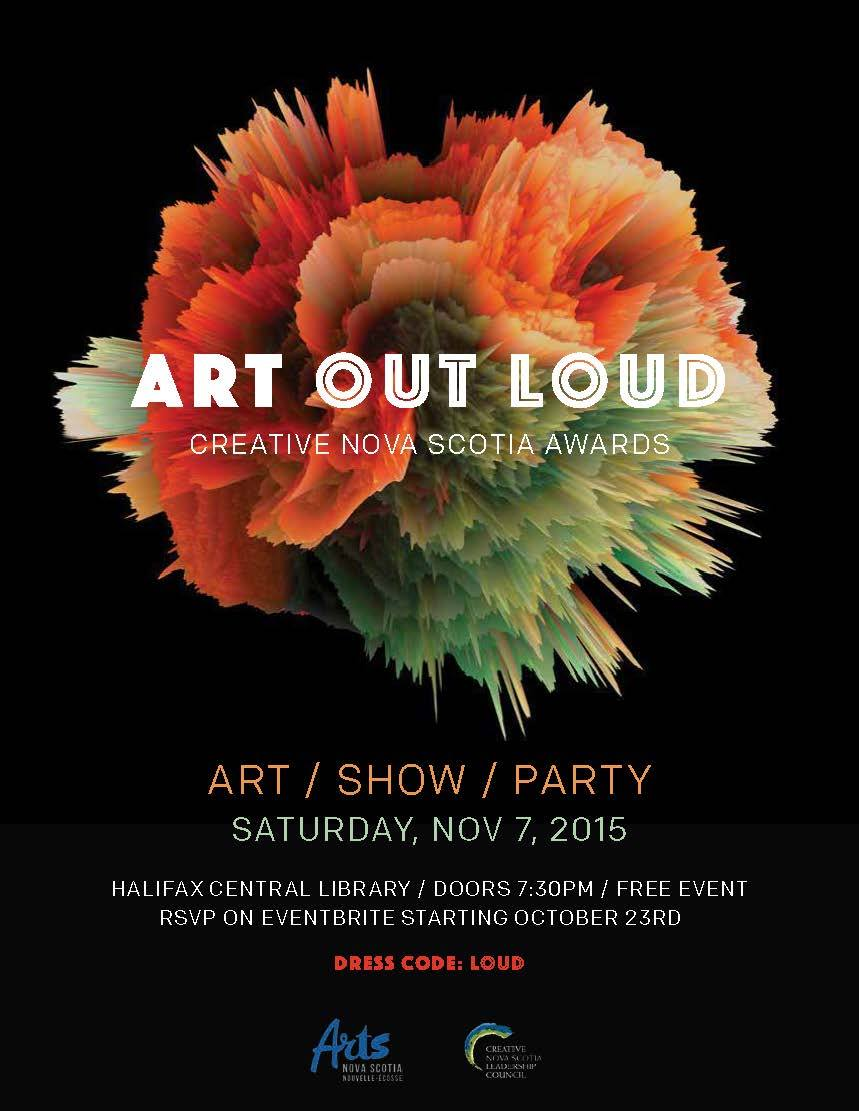 Art Out Loud - 2015 - Arts Awards Gala
