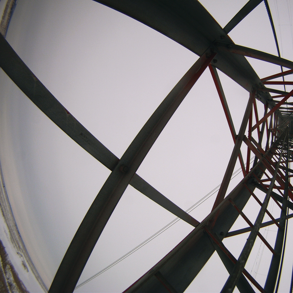 Radio Tower Ascent #1: Sunrise at 100 Feet_2470, 12×12 C-print on dibond, 2014-2015, 250.00 CAD