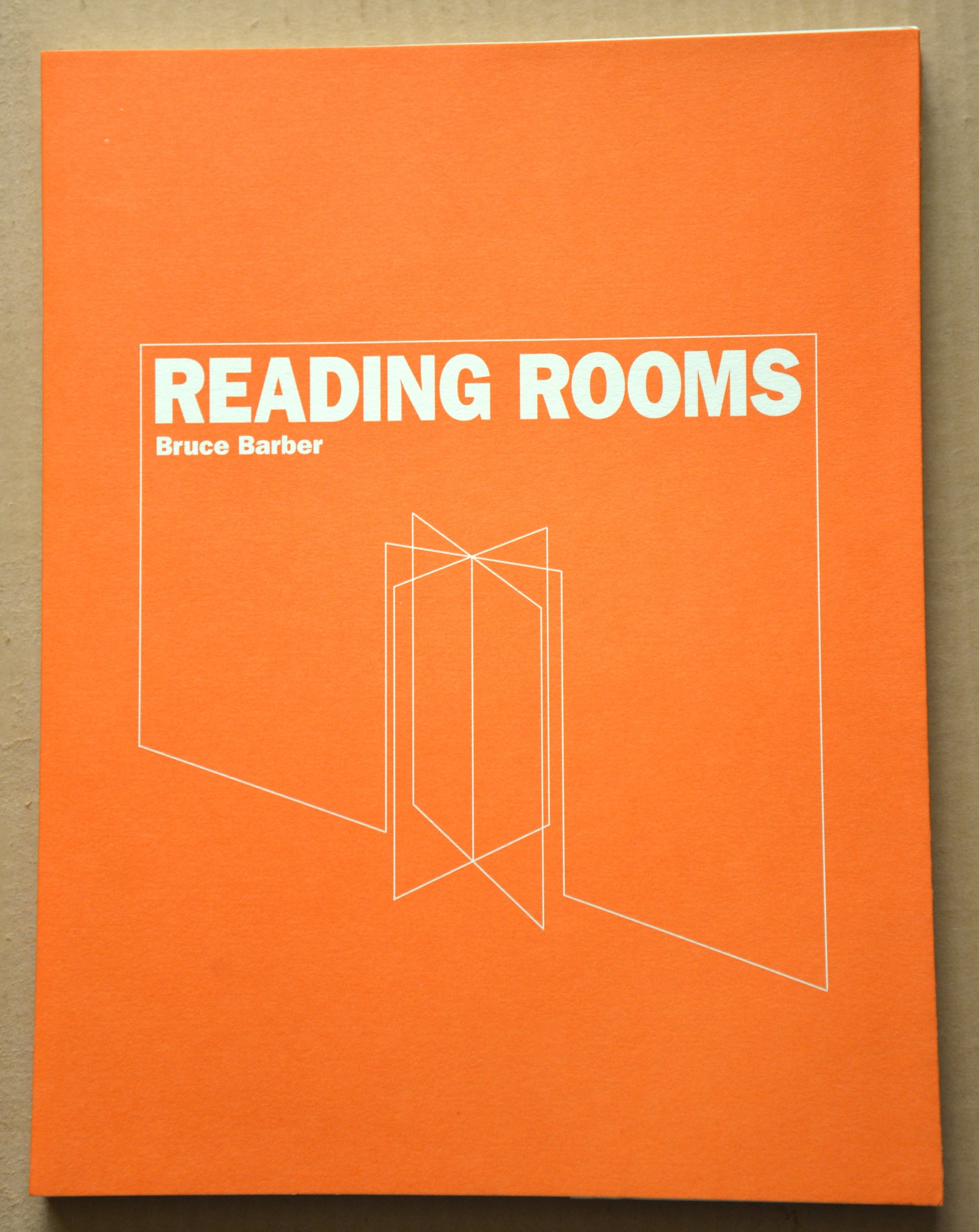 Reading Rooms, with b/w and colour plates, 132 pages, 21.5 × 28 × 1 cm, 10.00 CAD