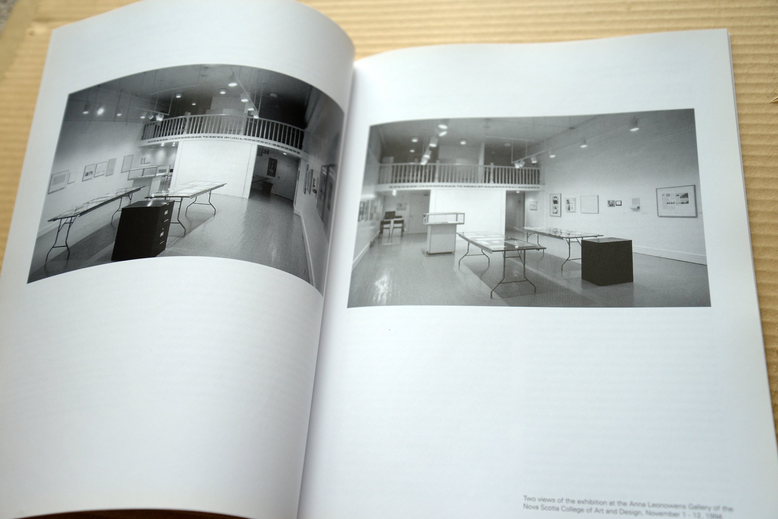 (Detail view), Conceptual Art: The NSCAD Connection 1967-1973,Edited by Dr. Bruce Barber, Softcover, 51 pages, 20 bw, 8.5 x 11″, 10.00 CAD, 2 of 5 SOLD